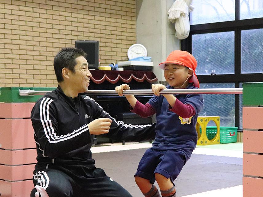 わんぱく教室(体操)